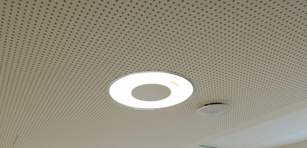 Knauf Cleaneo Akustik Sk Round Perforated Di Trade Group